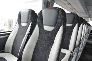 Cheney Coaches Fleet - Seats